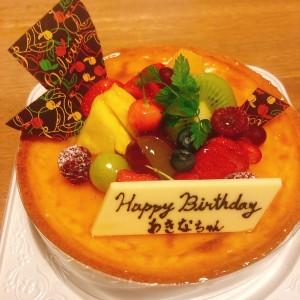 あきなちゃんケーキ